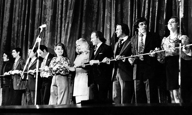 Открытие Дома актёра. 18 ноября 1974 года.